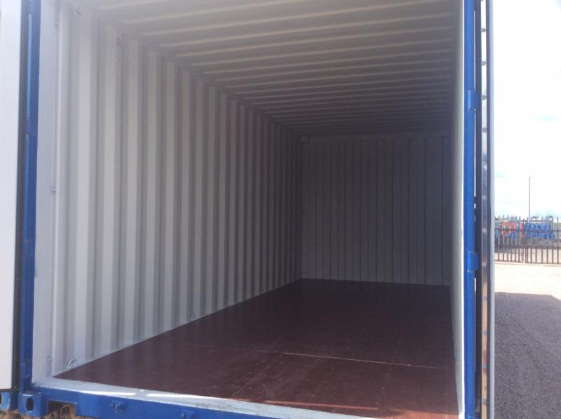 High quality self storage containers