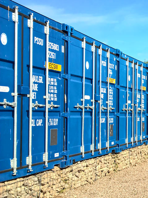 Elgin Container Storage